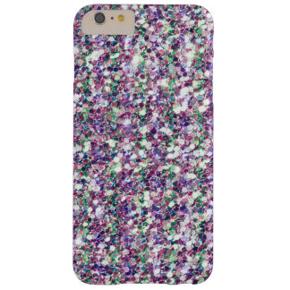 Pastel Colors Glitter Texture Print Barely There iPhone 6 Plus Case
