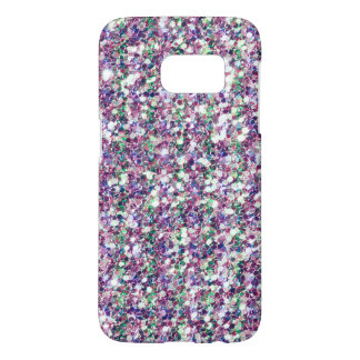 Pastel Colors Trendy Glitter Texture Print Samsung Galaxy S7 Case