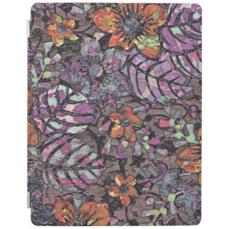 Pastel Colours floral pattern romantic digital art iPad Cover