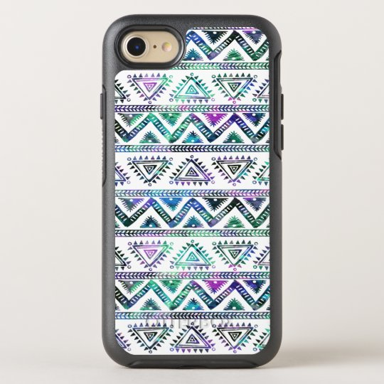 Pastel Colours Geometric Tribal Pattern OtterBox Symmetry iPhone 8/7 Case