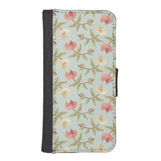 Pastel Cottage Floral Phone Wallet
