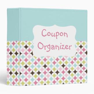Pastel Coupon Organizer Vinyl Binders