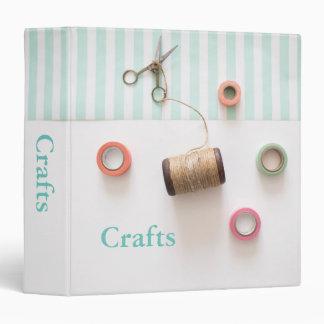 Pastel Craft Design Vinyl Binder