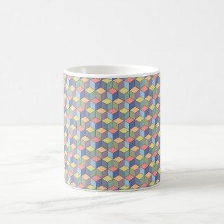Pastel Cubes Coffee Mug
