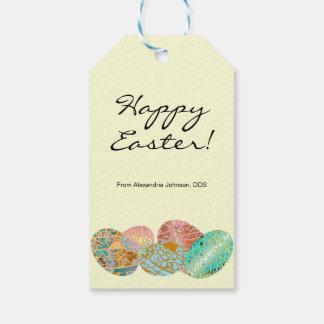Pastel Custom Business Sponsor Easter Egg Hunt Pack Of Gift Tags
