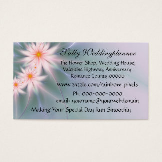 Pastel Daisies fireworks Business Card