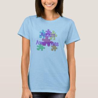 Pastel de sensibilisation sur l'autisme t-shirt