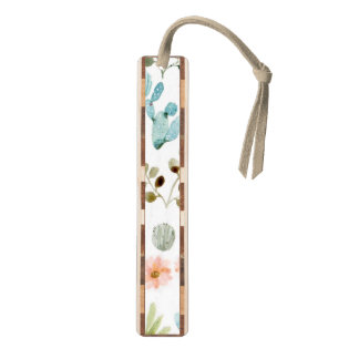Pastel Desert Cactus Bookmark for Matching Journal