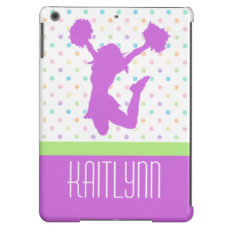 Pastel Dots Cheer or Pom iPad Air Case