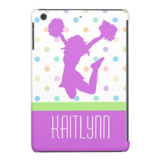 Pastel Dots Cheer or Pom iPad Mini Case