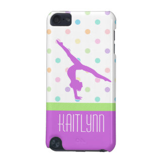 Pastel Dots Gymnastics iPod Touch 5 Case iPod Touch 5G Cases