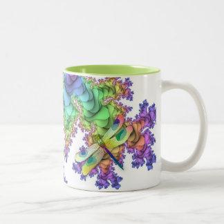 Pastel Dragonflies Mug