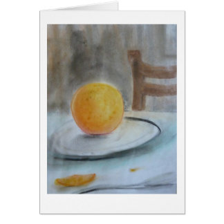 Pastel drawing greeting card, by Brad Hines Card