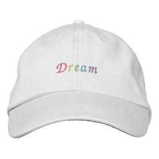 Pastel Dream Embroidered Baseball Caps