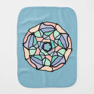 Pastel Dreams Burp Cloth