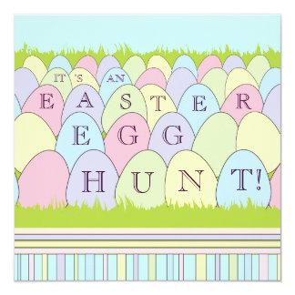 Pastel Eggs Easter Egg Hunt Party Invitation