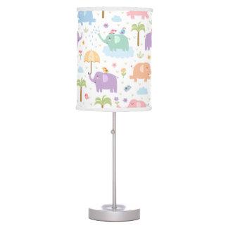 Pastel Elephant Lamp