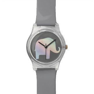 pastel elephant watch