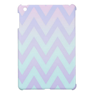 Pastel Fade Chevron iPad Mini Covers