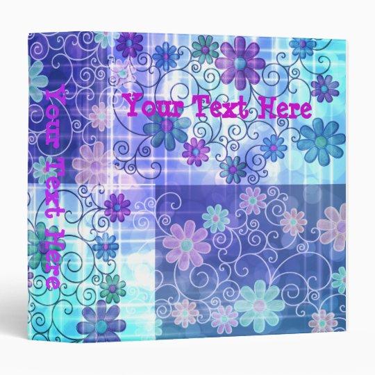 Pastel Floral Album Binder