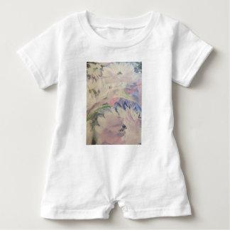Pastel Floral Baby Romper