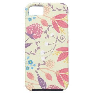 Pastel floral spring garden pattern iPhone 5 case