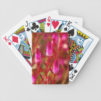 Pastel Flower Bicycle Playing Cards
