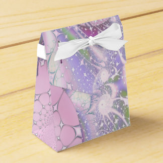 Pastel Fractal Favor Box