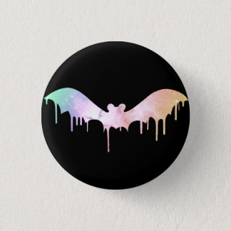 Pastel Galaxy MeltaBat Button