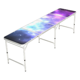 Pastel Galaxy Pong Table