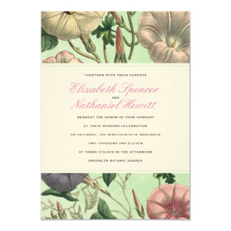 Pastel Garden Wedding Invitation
