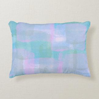 Pastel Geometric Lines Accent Pillow