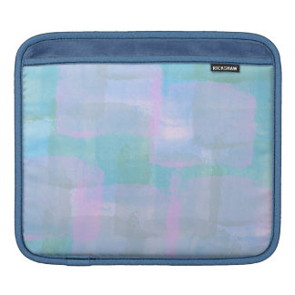 Pastel Geometric Lines iPad Horizontal Sleeve