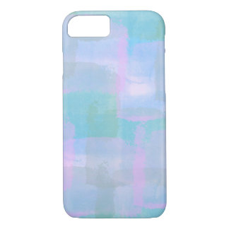 Pastel Geometric Lines iPhone Case