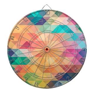 Pastel Geometry Dartboard