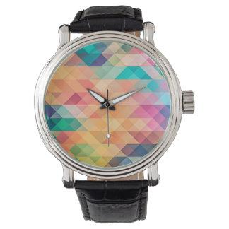 Pastel Geometry Watch