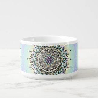 Pastel Glow Mandala ID359 Bowl