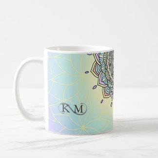 Pastel Glow Mandala ID359 Coffee Mug