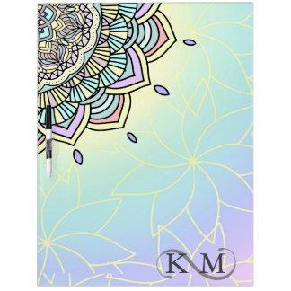 Pastel Glow Mandala ID359 Dry Erase Board