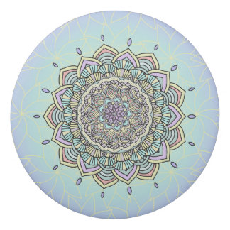 Pastel Glow Mandala ID359 Eraser