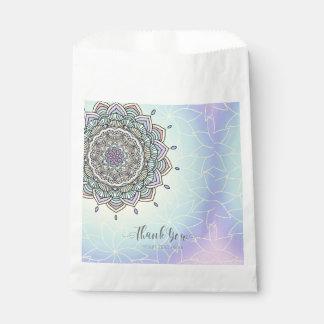 Pastel Glow Mandala ID359 Favour Bag