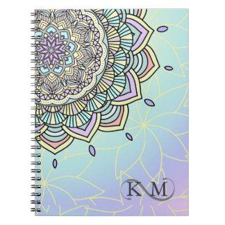 Pastel Glow Mandala ID359 Notebook
