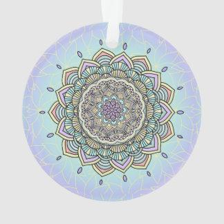 Pastel Glow Mandala ID359 Ornament