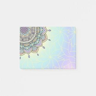 Pastel Glow Mandala ID359 Post-it Notes