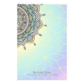 Pastel Glow Mandala ID359 Stationery