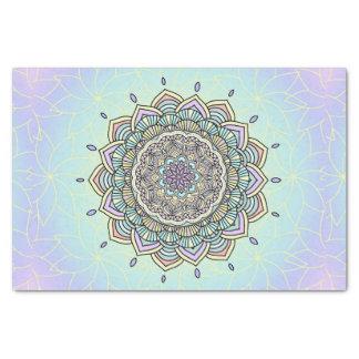 Pastel Glow Mandala ID359 Tissue Paper