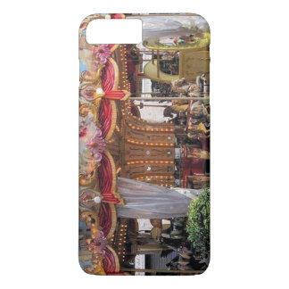 Pastel & Gold Floral Carousel from Rome, Italy iPhone 7 Plus Case