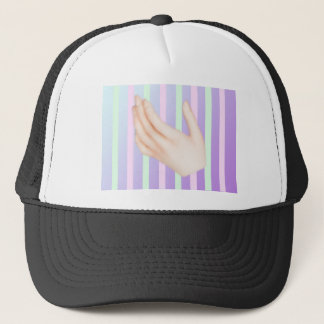 pastel gore skeleton her -26- trucker hat