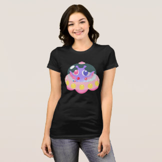 Pastel Goth Kawaii Alien Fairy Kei Fitted T-Shirt