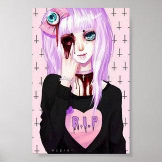 Pastel goth poster